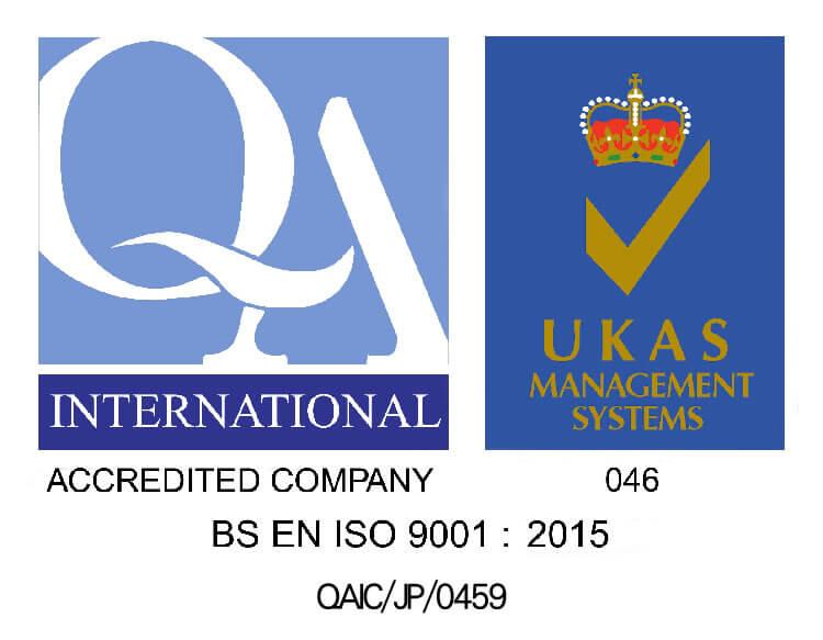 ISO 9001の認証を取得